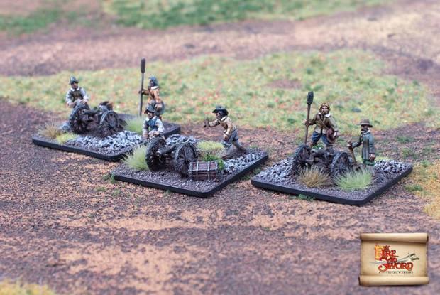 Brandenburger Leichte Artillerie - By Fire and Sword